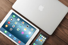 苹果例证imac公司 免版税库存照片
