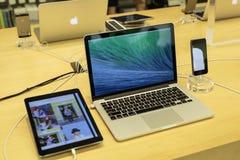 苹果公司的产品 库存图片