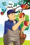 苹果农夫 免版税库存图片