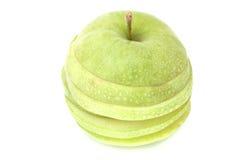 苹果切了 免版税库存照片