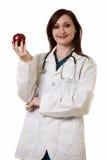 苹果医生夫人 库存照片