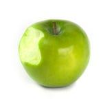 苹果叮咬 免版税库存照片