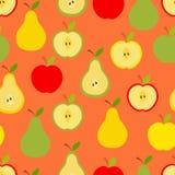 苹果和梨 向量例证