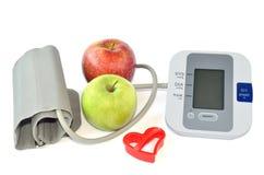 苹果和设备 库存图片