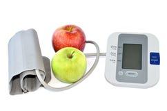 苹果和设备 免版税库存图片