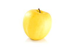 苹果唯一黄色 图库摄影