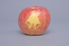 苹果圣诞节 免版税库存图片