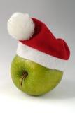 苹果圣诞节 库存照片