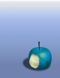 苹果地球 免版税图库摄影