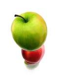 苹果塔 库存照片