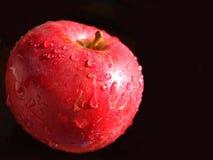 苹果大红色 免版税库存照片