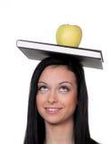 苹果学员 库存图片