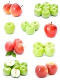 苹果收集 免版税库存图片