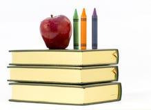 苹果教师 免版税图库摄影