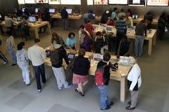 苹果新的存储约克 库存图片