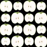苹果无缝的墙纸 免版税库存照片