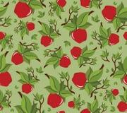 苹果无缝bakground的模式 库存照片