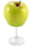 苹果杯子 免版税库存图片