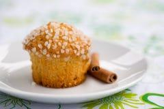 苹果松饼 免版税库存照片