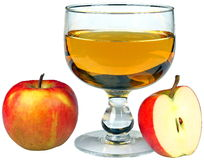 苹果果汁 库存照片