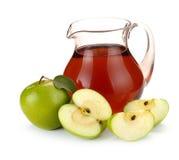 苹果果汁 库存图片