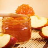 苹果果酱 图库摄影