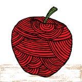 苹果标签 免版税库存图片