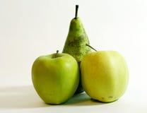 苹果梨二 免版税库存照片