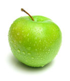 苹果水多成熟 库存图片