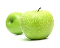 苹果水多成熟 免版税库存照片