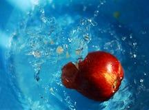 苹果水 库存照片