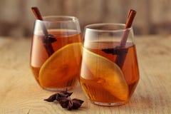 苹果汁用香料 图库摄影