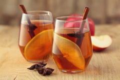 苹果汁用香料 免版税库存图片