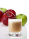 苹果汁 免版税图库摄影