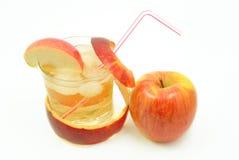 苹果汁 免版税库存照片