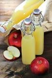 苹果汁01 免版税库存图片
