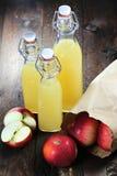 苹果汁02 库存图片