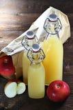 苹果汁04 库存图片