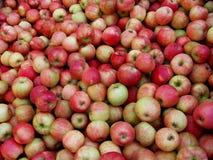 苹果油炸马铃薯片蜂蜜 库存照片