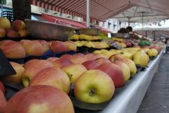 苹果法国市场好的停转 图库摄影