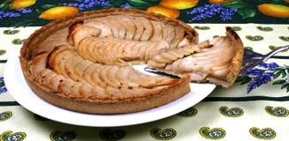 苹果法国馅饼 免版税库存图片