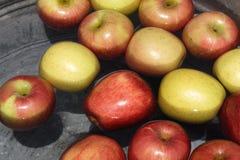 苹果浮动 免版税库存图片
