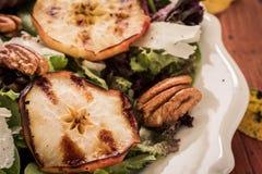 苹果烤沙拉 免版税库存照片