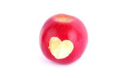 苹果爱 免版税库存图片