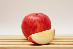 苹果片d 免版税库存图片