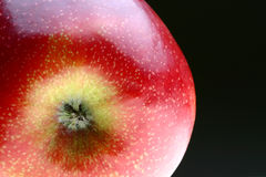 苹果特写镜头 免版税库存图片
