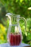 苹果瓶子红色 免版税库存照片