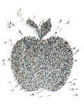 苹果的例证 图库摄影