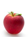苹果红色白色 免版税库存照片