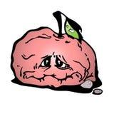 苹果红色缓慢 库存例证